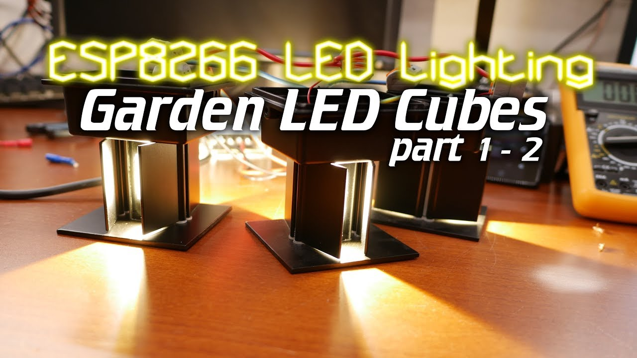 ESP8266 LED Lighting: Outdoor Garden Lights Part 1   2