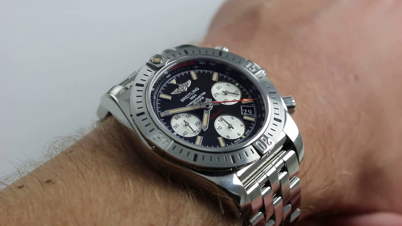 897bfb111c0 Breitling Chronomat 41 Airborne Chronograph Ref. AB01442J BD26-378A Watch  Review