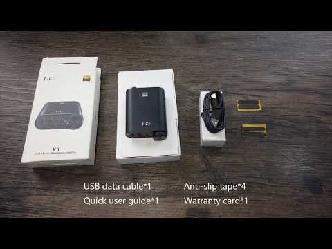 A simple user guide video to show you how the FiiO K3 works! - YouTube
