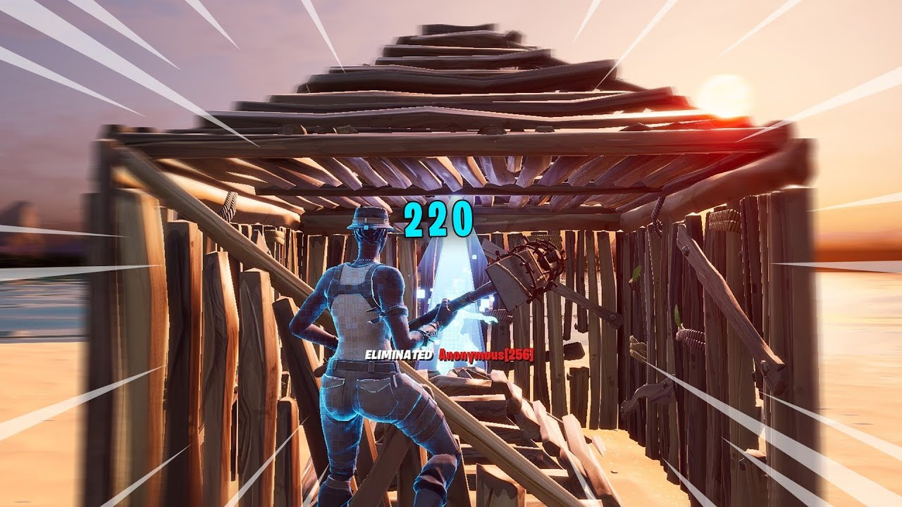 fortnite but every kill is a 200 pump...  (+ my settings)