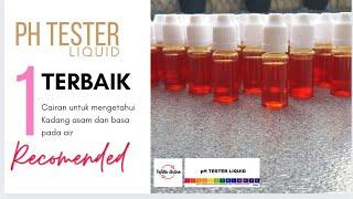 pH Tester Best Quality . pH Drop . Cairan Test Asam Basa Air . Murah Isi 10ML