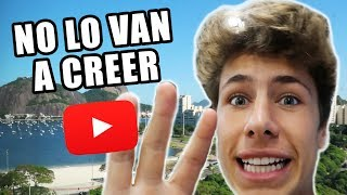 Cuartel secreto de YouTube en Brasil! *increíble*
