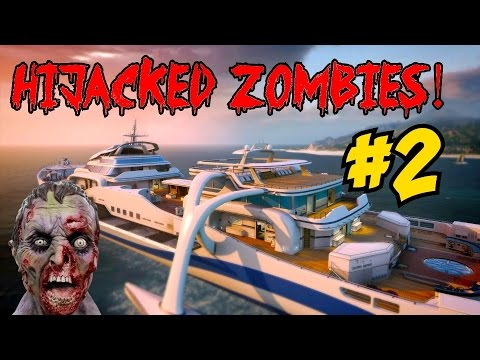 ★ BLACK OPS 2 HIJACKED ZOMBIES! [2] ★ NEW PERKS: Hijacked Aid & Candolier Soda! (CoD Custom Zombies)