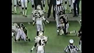 Bears vs Cardinals 1986 Preseason Football Fight