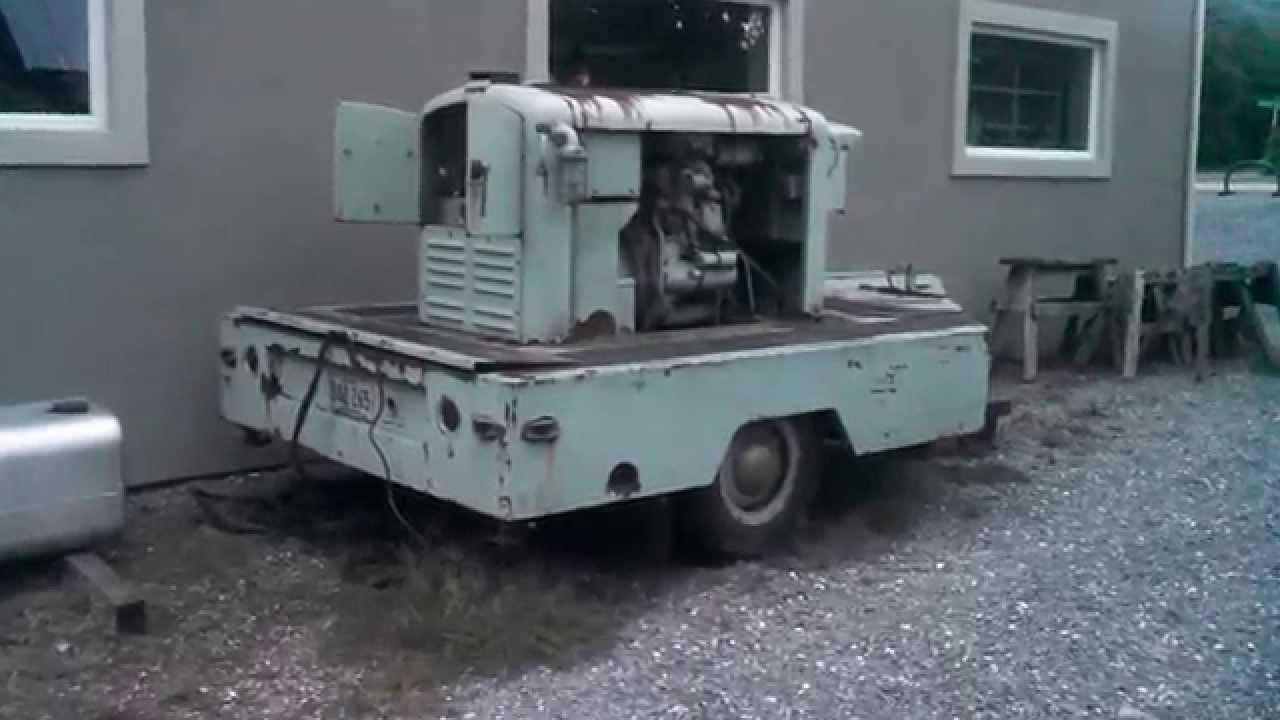 Detroit Diesel 2-53 generator 20kw