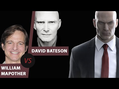 David Bateson Original Agent 47 vs. William Mapother Absolution temporary replacement