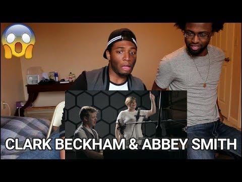 Clark Beckham - Gravity feat. Abbey Smith by John Mayer (REACTION)
