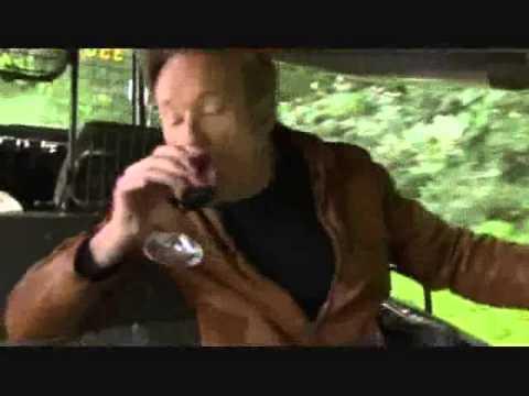 Conan Travels - 'Conan visits Napa Valley' - 2/10/09