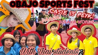 Obajo Sports Fest| Funny moments with thai students