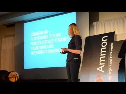 How commitment shapes our lives: Heidi Reeder at TEDxAmmon