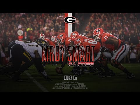 UGA Football: Ep. 7: Kirby Smart All Access vs Missouri 2017