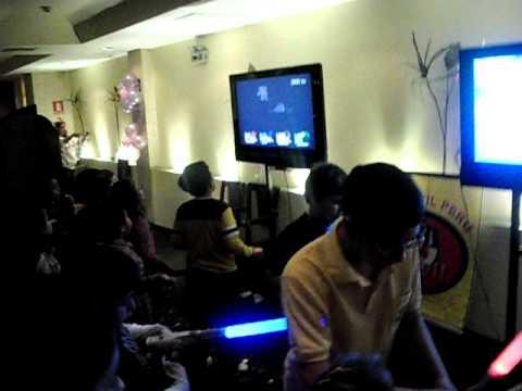 Pista de baile dance pad, karaoke y Wii sports resort en Fiesta de Cumpleaños