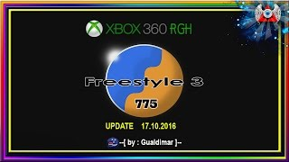 NOVA  -( Freestyle 775 )-  UPDATE 17.10.2016  - BY : Gualdimar - Para Xbox 360 RGH