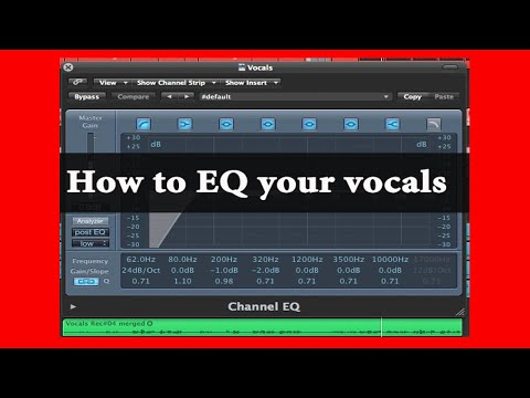 How To EQ Your Vocals - The Easy Way | Theo Nt | theont.com