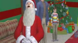 The Sims 2 Christmas Party Pack trailer.