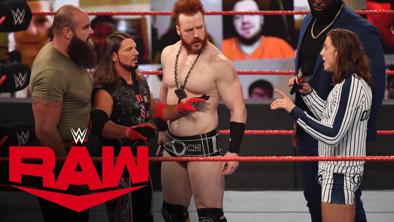 AJ Styles attempts to unite an explosive Team Raw: Raw, Nov. 9, 2020