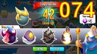 Dragon City Breeding Tutorial Part 74 | Reach Level 42 High Queen, High Tension, Dracon Dragon