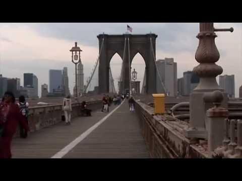 Brooklyn Bridge | New York City, New York | Stock Footage