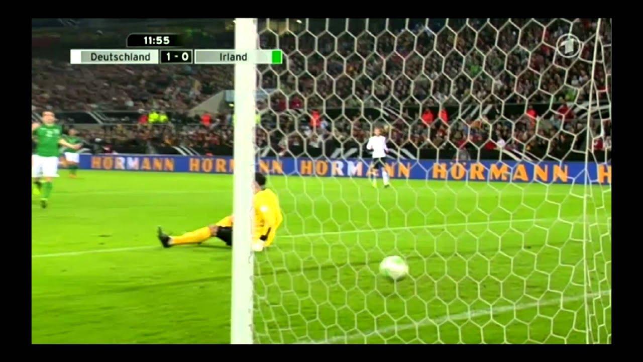 Deutschland 3:0 Irland (Germany 3:0 Ireland ) all Goals HD