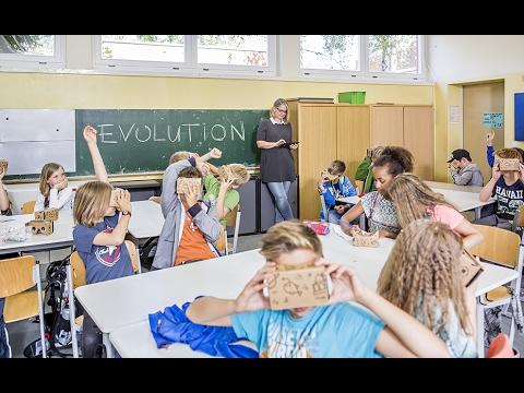 Google Expeditions: Berliner Grundschüler erkunden virtuell das Senckenberg Naturmuseum Frankfurt