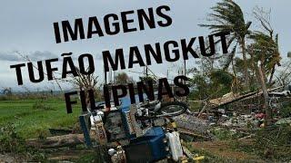 Imagens da passagem do tufão Mangkut pelas Filipinas - 15/09/2018