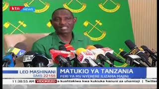 Matukio ya Tanzania 2018; matukio makuu nchini Tanzania