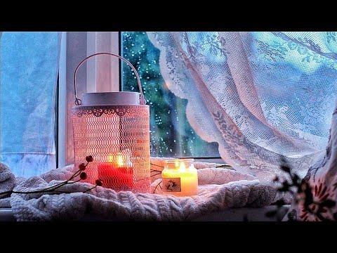 A Peaceful Winter Evening Vlog | Cozy Heart-warming Food Silent ASMR |  #شتاء_اليوتيوبرز