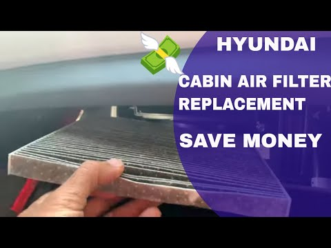How to Replace Hyundai Cabin Air Filter