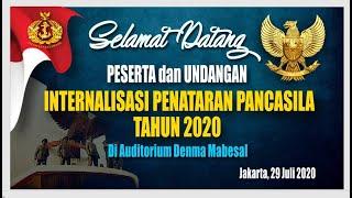 Internalisasi Penataran Pancasila TNI AL Tahun 2020