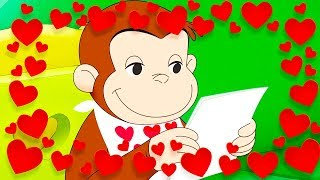 Curious George 🐵❤️Happy Valentine's Day, George ❤️🐵Valentines Day Special❤️🐵 Kids Cartoon