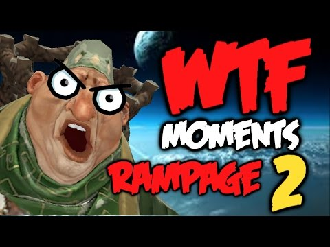 Dota 2 WTF Rampage Compilation 2