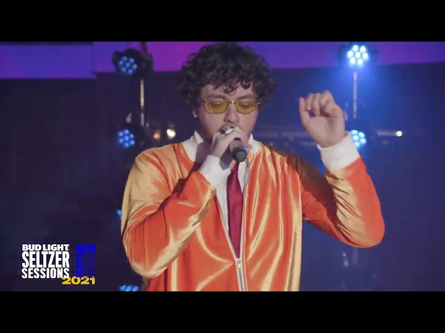 "Jack Harlow Performs ""Already Best Friends"" LIVE at Bud Light Seltzer Sessions NYE Show"