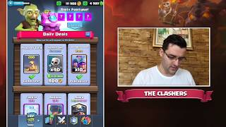 Clash Royale - UPDATE - Отварям НОВИТЕ честове и ТЕСТВАМ картите!