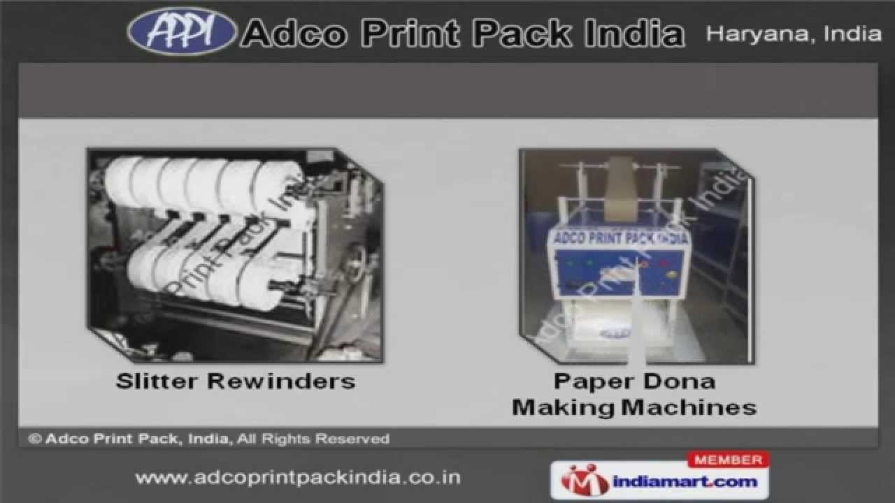 Paper Cup and Paper Plate Machines by Adco Print Pack, India, Faridabad