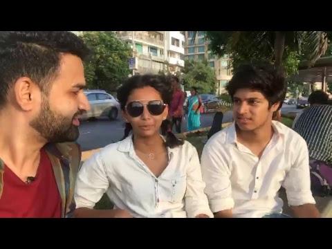Street Interview LIVE From Marine Drive Mumbai- BOB Live - Sid