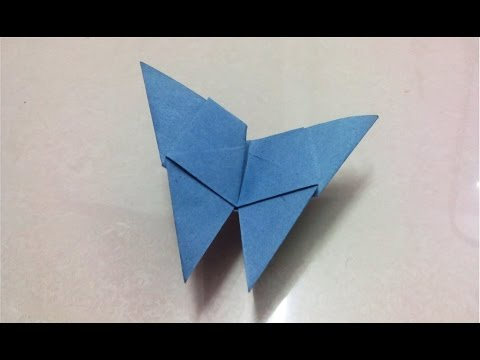 How To Make Origami Paper Butterfly Origami Paper Folding Craft