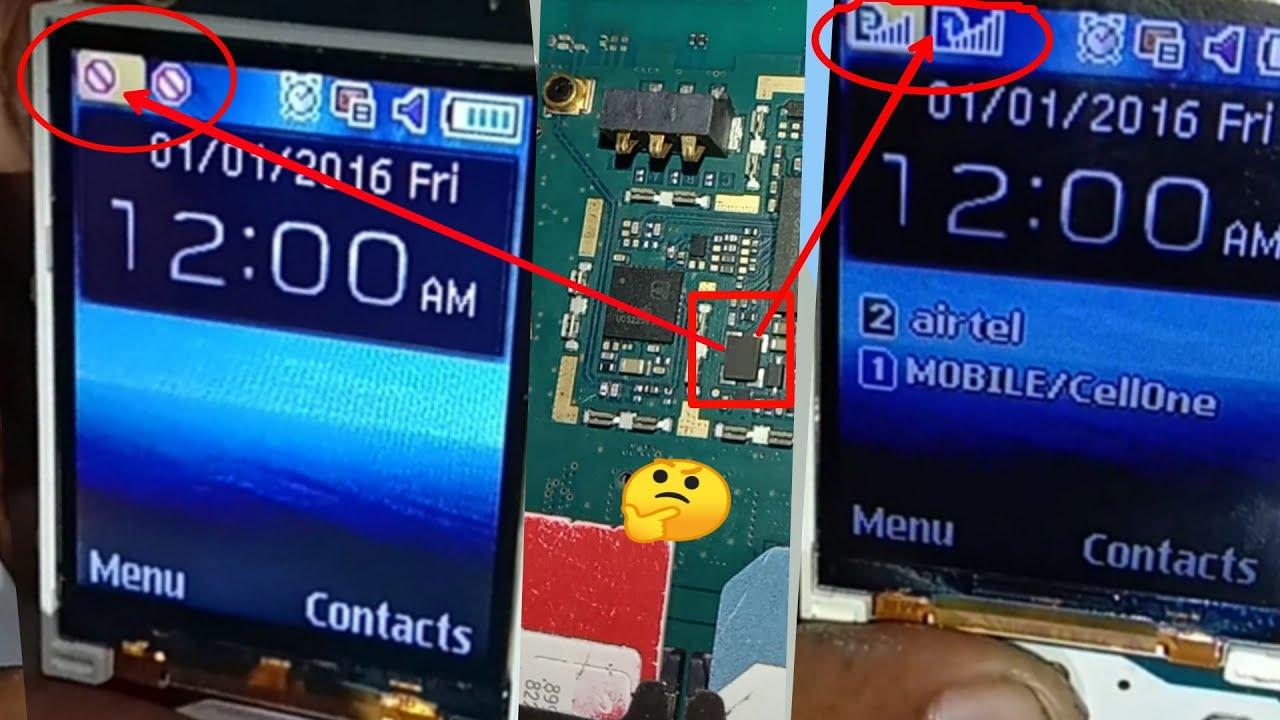 Samsung B310 network problem// B310,B312,B313 network fix solution