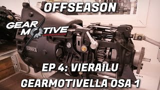 How does a Dogbox transmission work? A Visit at Gearmotive part 1/2 - Offseason EP 4