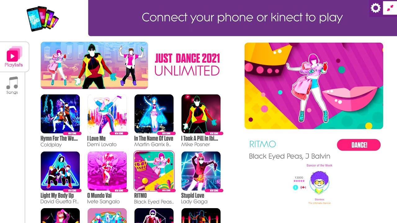 Just Dance 2021 Unlimited 300 SONGS! | Menu Songlist