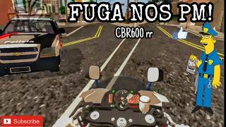 _FUGA NOS PM DE CBR600 RR •|• GTA SA ANDROID MODS_