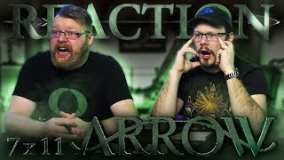 "Arrow 7x11 REACTION!! ""Past Sins"""