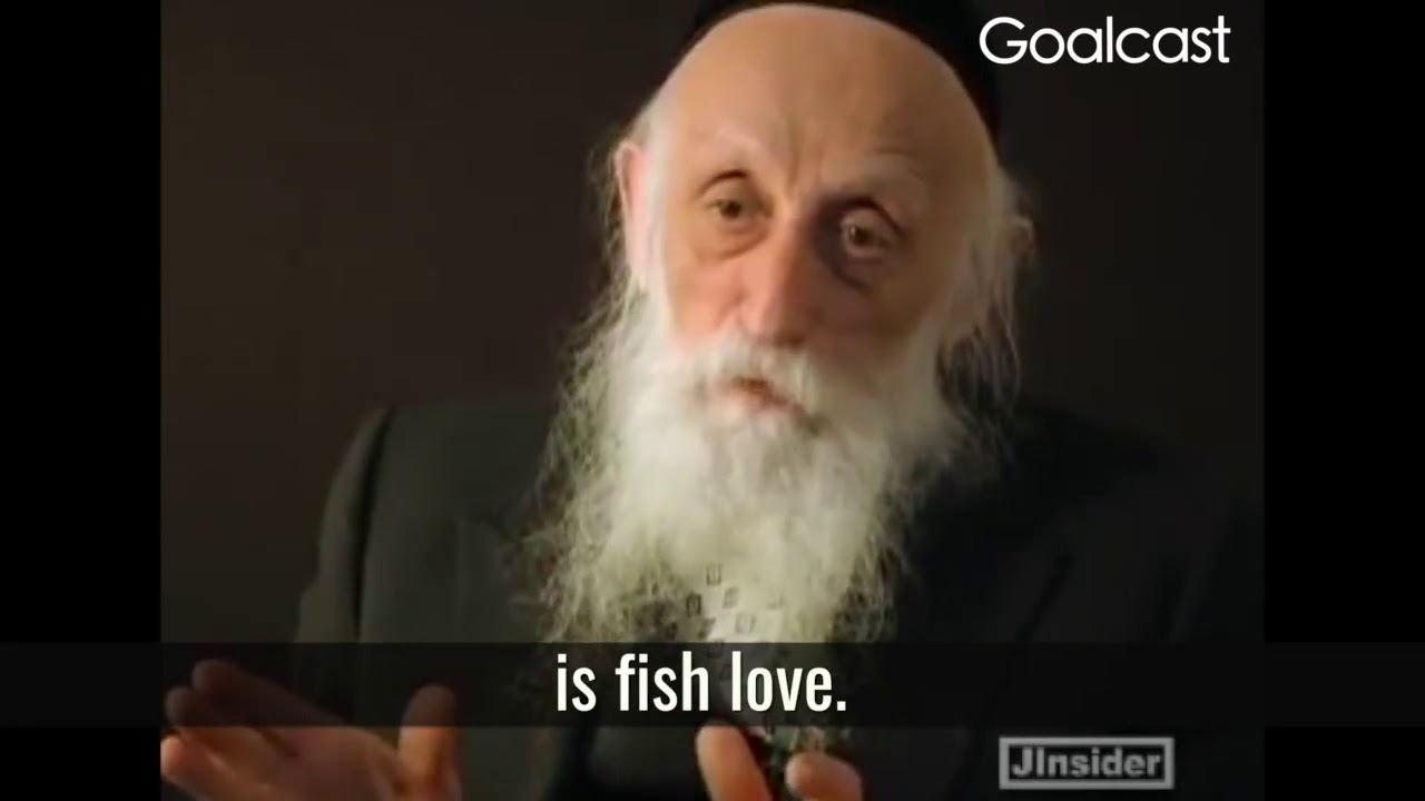 FISH LOVE from Rabbi Twersky