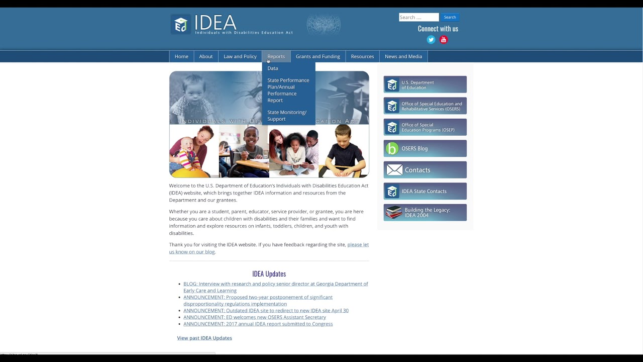 IDEA Website | Overview - YouTube