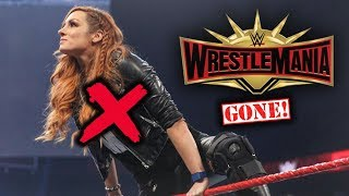 Real Reason Why WWE Was FORCED TO REPLACE Becky Lynch w/ Charlotte For Wrestlemania 35 - WWE Raw