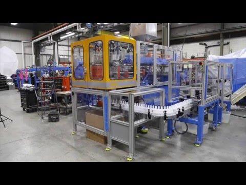 Rocheleau SPB-3 Blow Molding Machine 5 Head