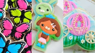 AMAZING DECORATED COOKIES, BLAST FROM THE PAST by HANIELA