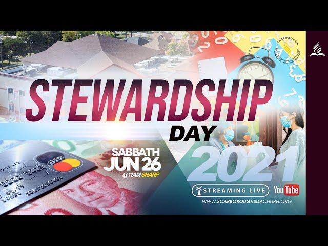 Sabbath Service | Stewardship Day | June 26, 2021