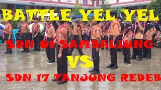 Download lagu Battle Yel yel SDN 01 Sambaliung VS SDN 17 Tanjung Redeb #Galaksi