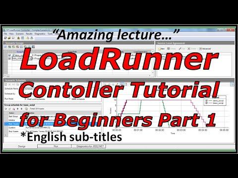 LoadRunner Controller and manual scenario tutorial
