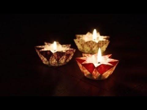 How To Make A Star Lantern Using Paper || Origami Star Lantern